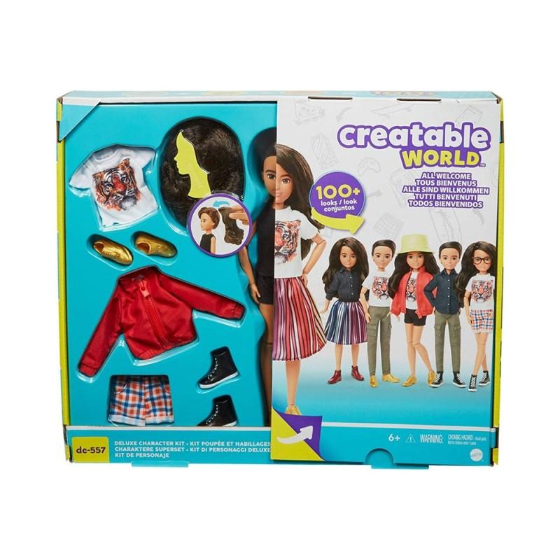 Bambola Deluxe Capelli Castani - Mattel  - MazzeoGiocattoli.it