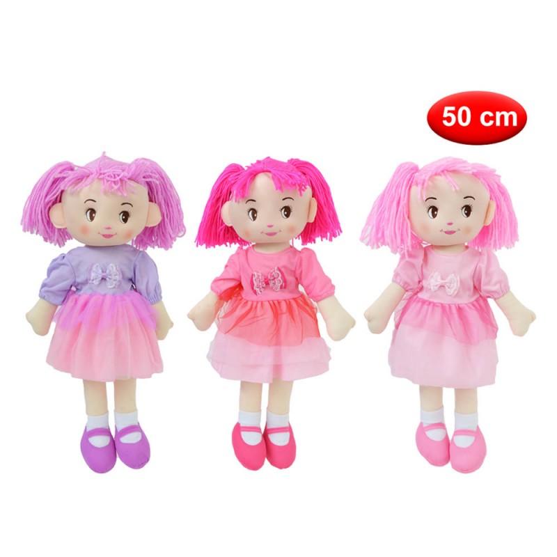 Bambola Di Pezza 50 Cm - Mazzeo Giocattoli  - MazzeoGiocattoli.it