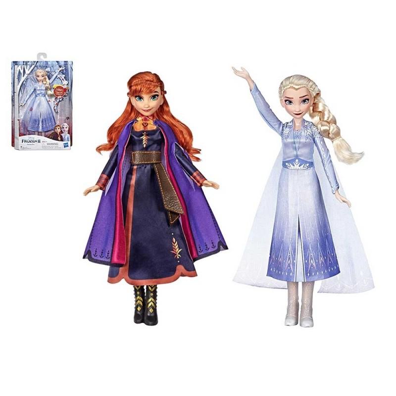 Bambola Elettronica Frozen 2 Disney - Hasbro  - MazzeoGiocattoli.it