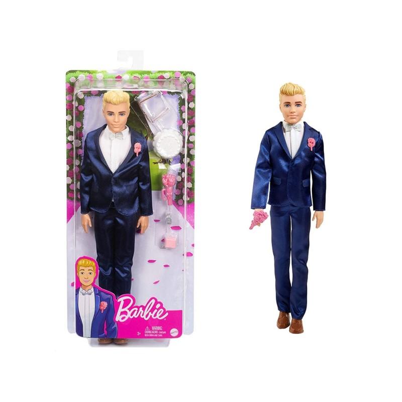 Bambola Ken Sposo - Mattel  - MazzeoGiocattoli.it