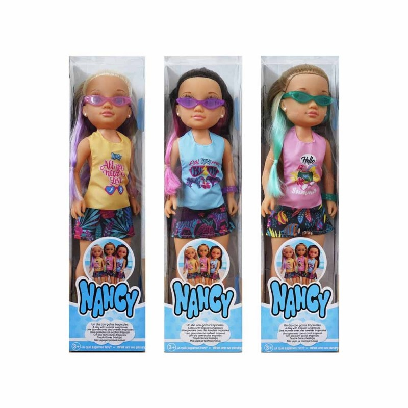 Bambola Nancy - Una Giornata Con Occhiali - Famosa - MazzeoGiocattoli.it