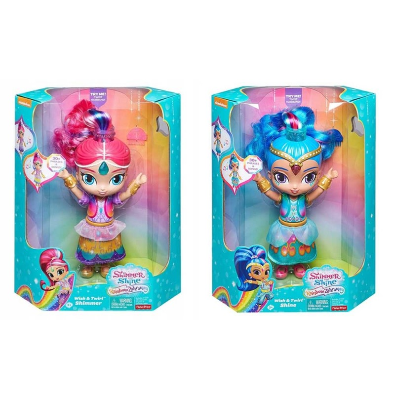 Bambola Parlante Shimmer & Shine - Fisher Price  - MazzeoGiocattoli.it