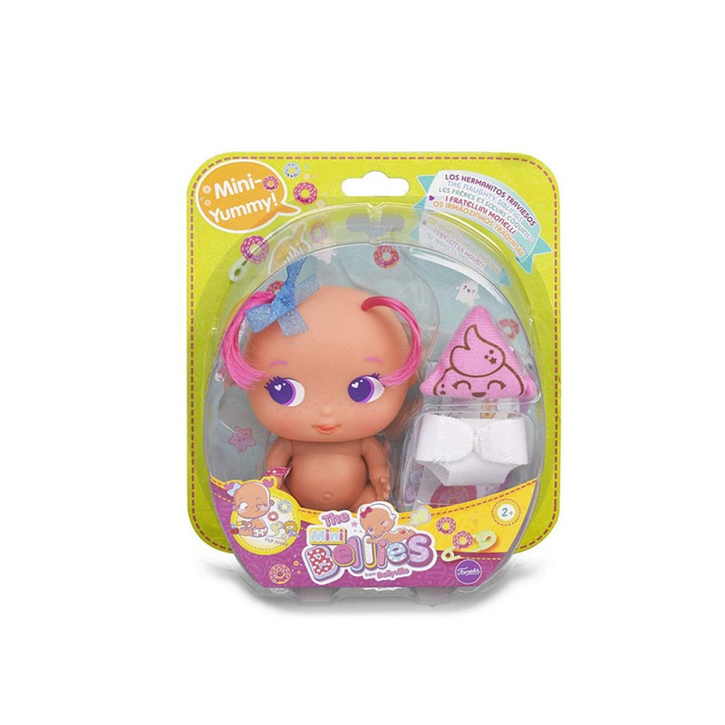 Bambola The Bellies Mini Yummy - Famosa  - MazzeoGiocattoli.it