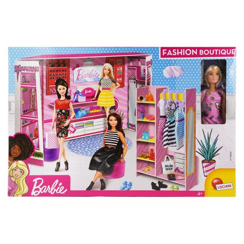 Barbie Fashion Boutique Con Doll - Lisciani  - MazzeoGiocattoli.it