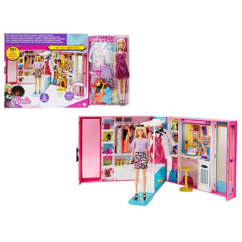 Barbie Armadio Dei Sogni - Mattel  - MazzeoGiocattoli.it