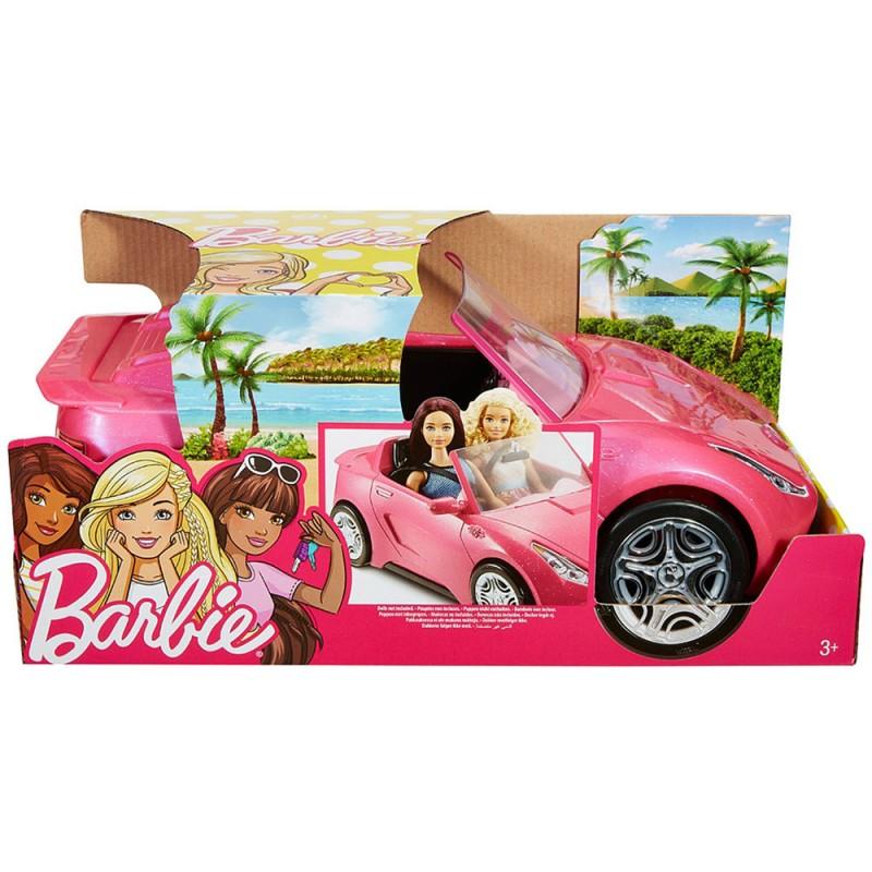 Barbie Auto Cabrio Glamour Mattel - MazzeoGiocattoli.it