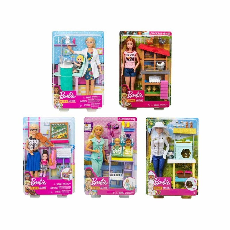 Barbie Carriere Playset - Mattel  - MazzeoGiocattoli.it