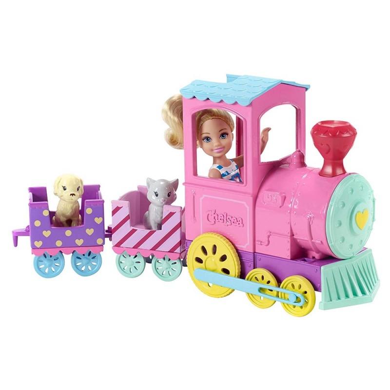 Barbie Club Chelsea Bambola E Trenino - Mattel - MazzeoGiocattoli.it
