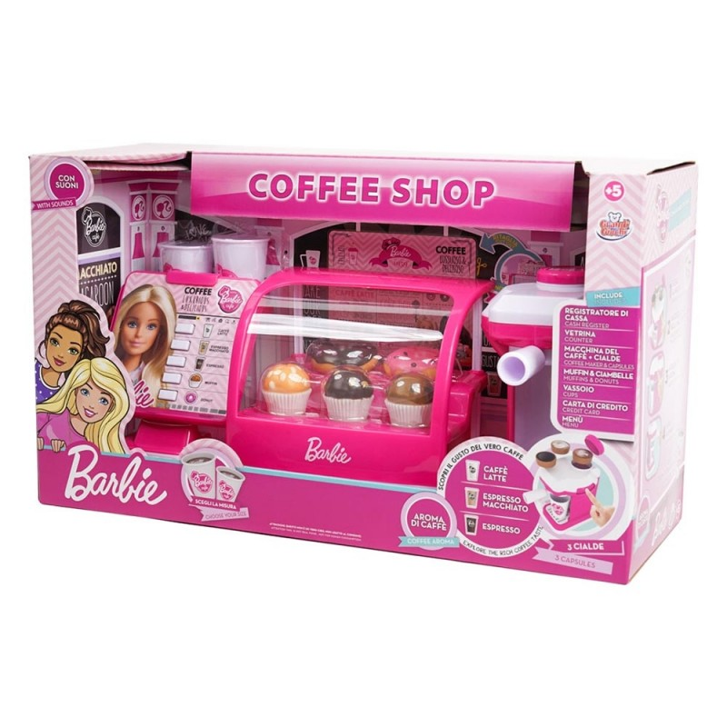 Barbie Coffee Shop - MazzeoGiocattoli.it