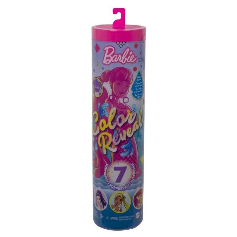 Barbie Color Reveal Serie Monocolore - Mattel  - MazzeoGiocattoli.it