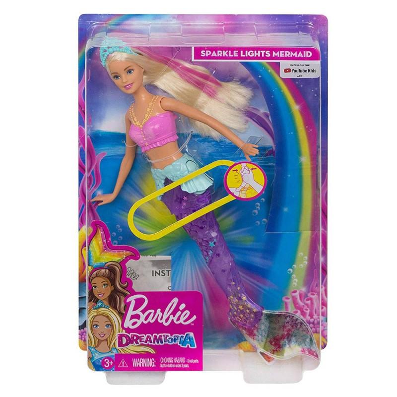 Barbie Dreamtopia Magica Sirena - Mattel  - MazzeoGiocattoli.it