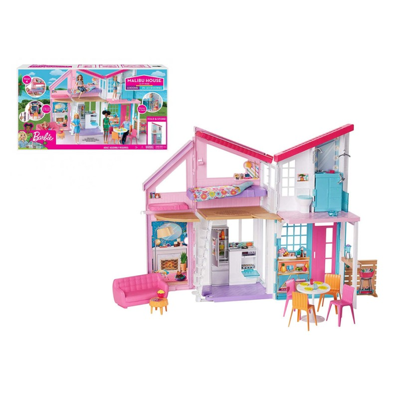 Barbie Nuova Casa Malibu - Mattel  - MazzeoGiocattoli.it