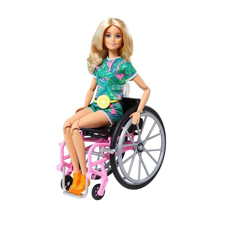 Barbie Sedia A Rotelle - Mattel - MazzeoGiocattoli.it