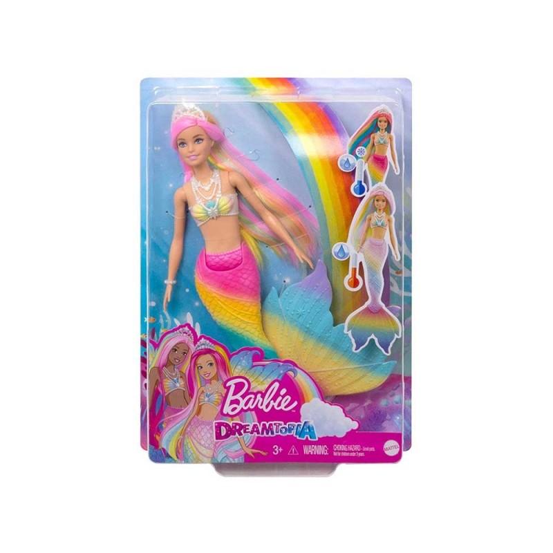 Barbie Sirena Cambia Colore Dreamtopia - Mattel  - MazzeoGiocattoli.it