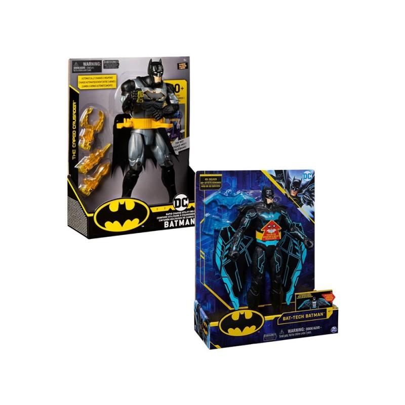 Batman Personaggio 30 Cm Con Armi - Spin Master  - MazzeoGiocattoli.it