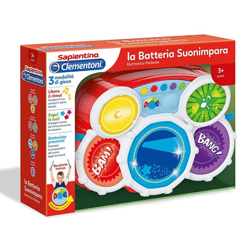 Sapientino La Batteria Suonimpara - Clementoni - MazzeoGiocattoli.it