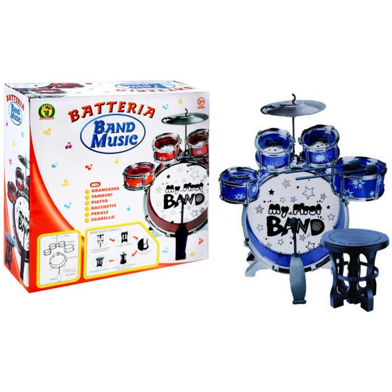 Batteria Musicale Band - Mazzeo Giocattoli  - MazzeoGiocattoli.it