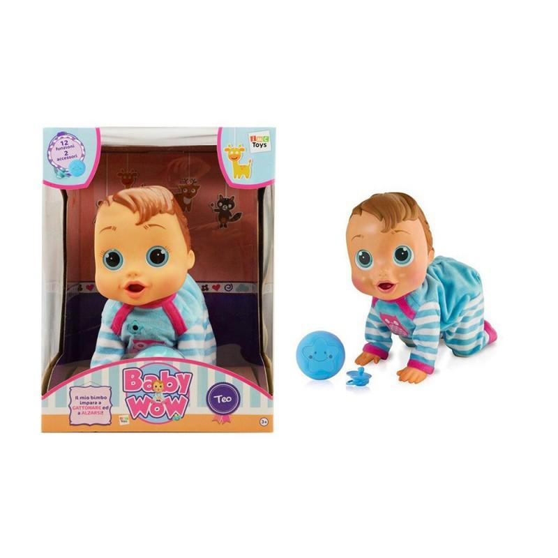 Bebè Interattivo Baby Wow Teo - IMC Toys  - MazzeoGiocattoli.it
