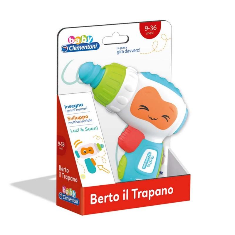 Berto Il Trapano - Clementoni  - MazzeoGiocattoli.it