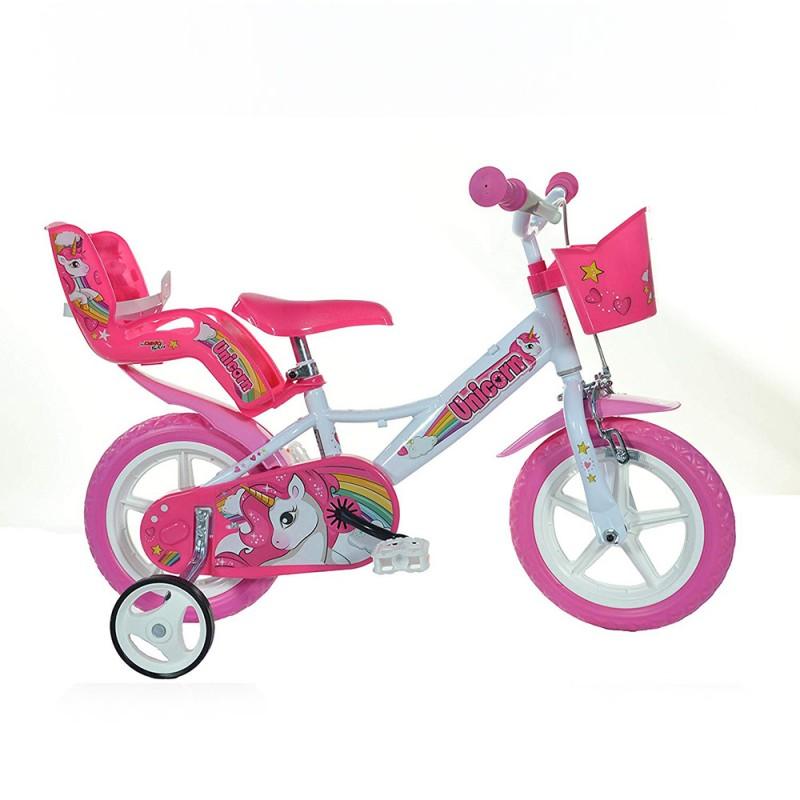 Bici 12 Pollici Unicorn - Dino Bikes - MazzeoGiocattoli.it