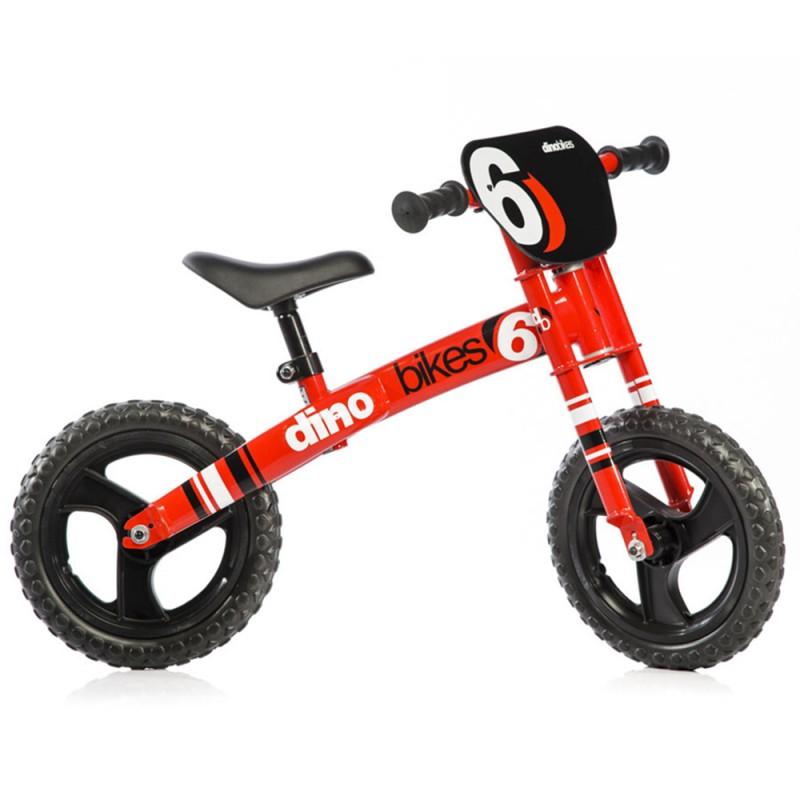 Bicicletta 12 Pollici Runner Runner Rossa - Dino Bikes - MazzeoGiocattoli.it