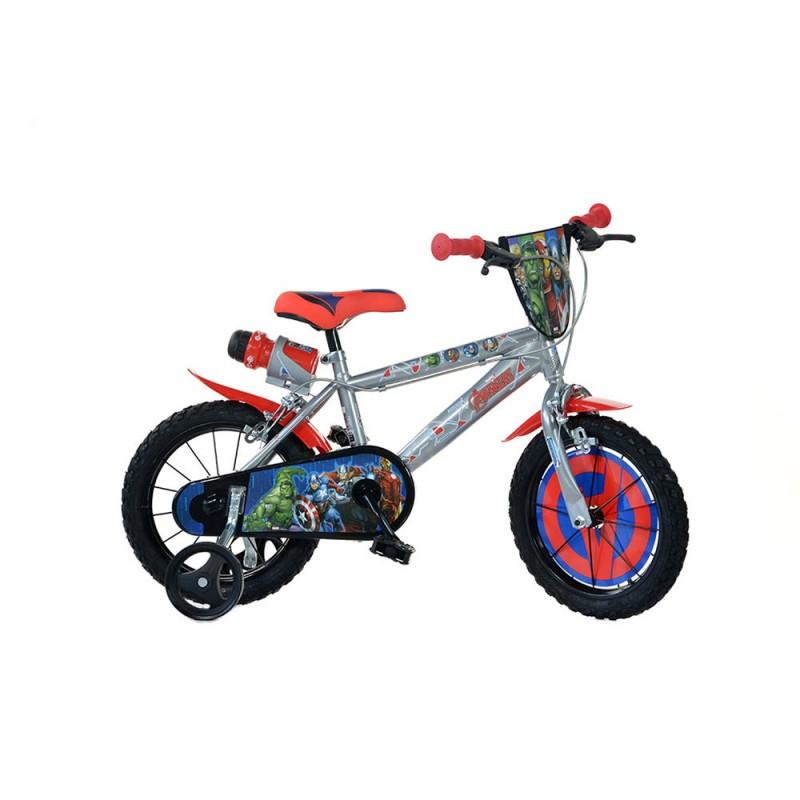 Bicicletta Avengers Taglia 14 - Dino Bikes  - MazzeoGiocattoli.it