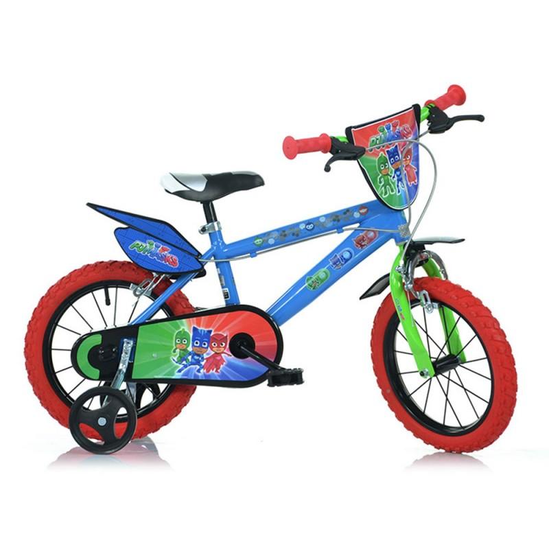 Bicicletta Bambino Pj Masks Ruota 14 - MazzeoGiocattoli.it