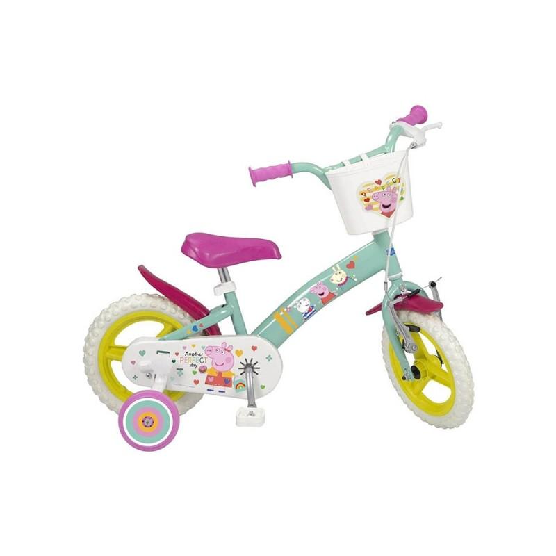 Bicicletta Bimba Peppa Pig Taglia 12  - MazzeoGiocattoli.it