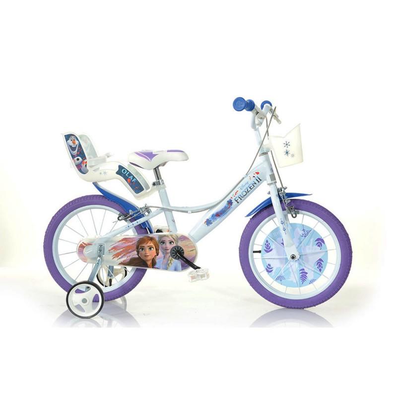 Bicicletta Disney Frozen 16 Pollici - Dino Bikes  - MazzeoGiocattoli.it