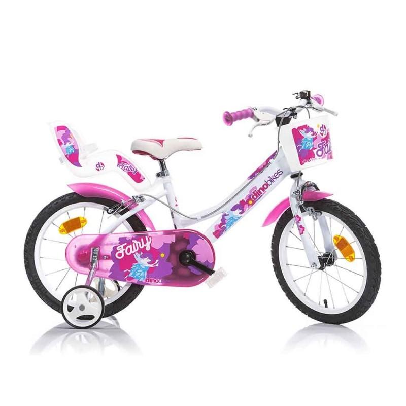 Bicicletta Fairy Bimba 16 Pollici - Dino Bikes  - MazzeoGiocattoli.it