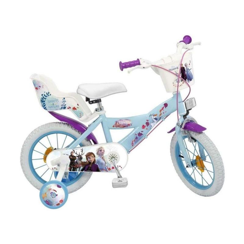 Bicicletta Frozen 2 Taglia 14 - MazzeoGiocattoli.it