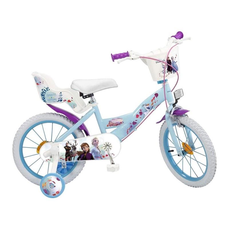 Bicicletta Frozen 2 Taglia 16 - MazzeoGiocattoli.it