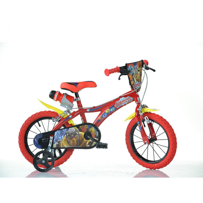 Bicicletta Gormiti Taglia 14 - Dino Bikes  - MazzeoGiocattoli.it