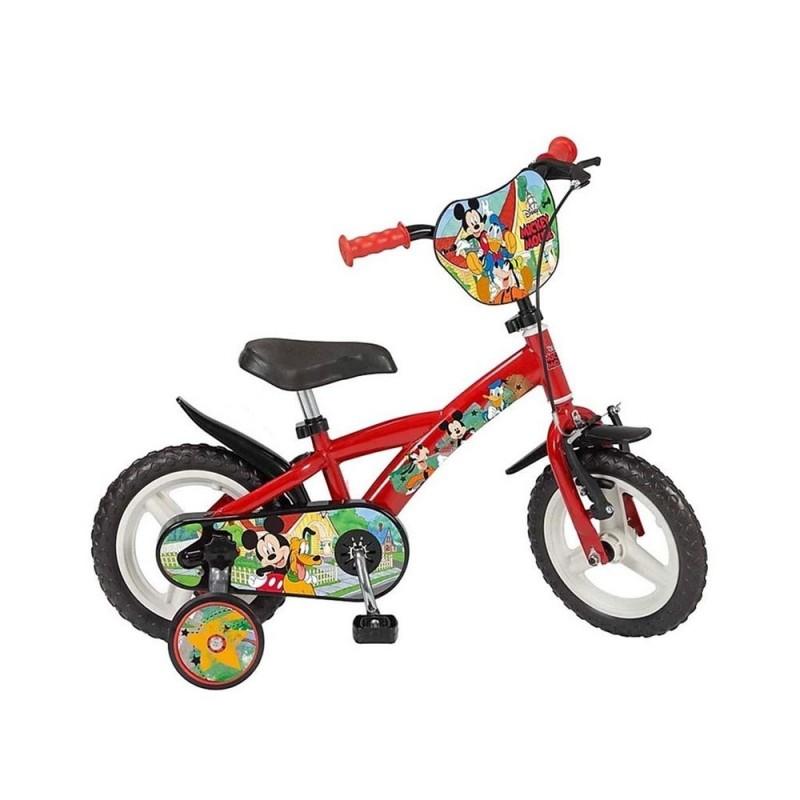Bicicletta Mickey Mouse Taglia 12  - MazzeoGiocattoli.it