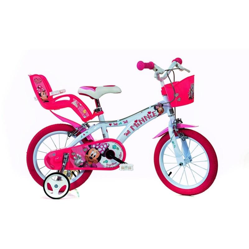 Bicicletta Minnie 16 Pollici - Dino Bikes  - MazzeoGiocattoli.it