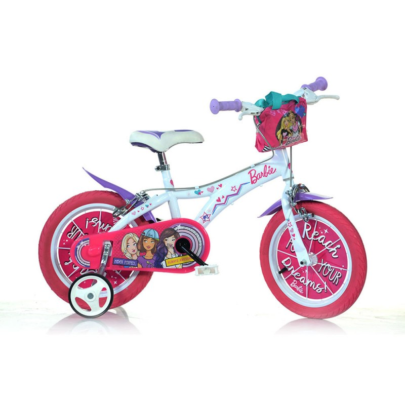 Bicicletta Ruota 16 Barbie New - Dino Bikes - MazzeoGiocattoli.it