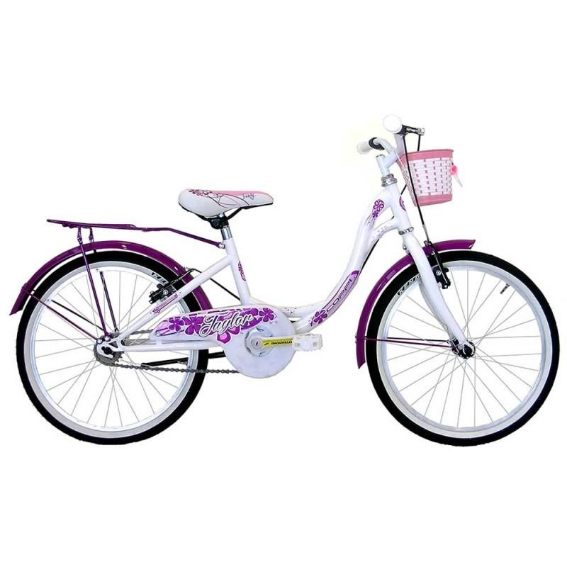 Bicicletta Ruota 20 Per Ragazza Bianca - Masciaghi  - MazzeoGiocattoli.it