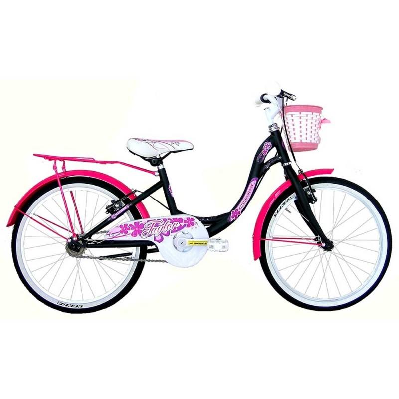 Bicicletta Ruota 20 Per Ragazza Nera - Masciaghi  - MazzeoGiocattoli.it