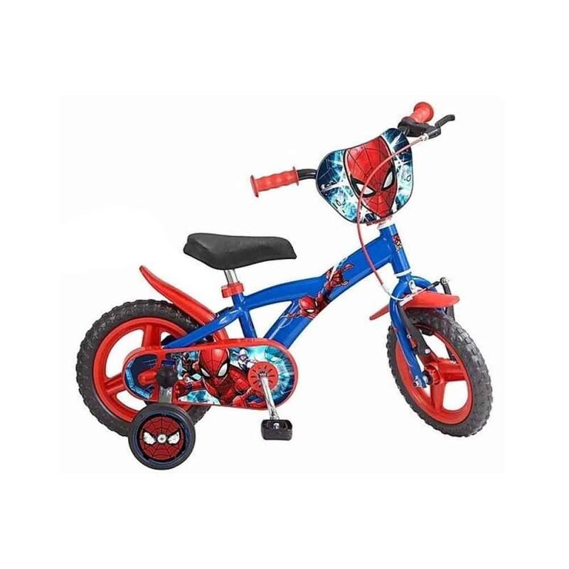 Bicicletta Spider Man Taglia 12  - MazzeoGiocattoli.it