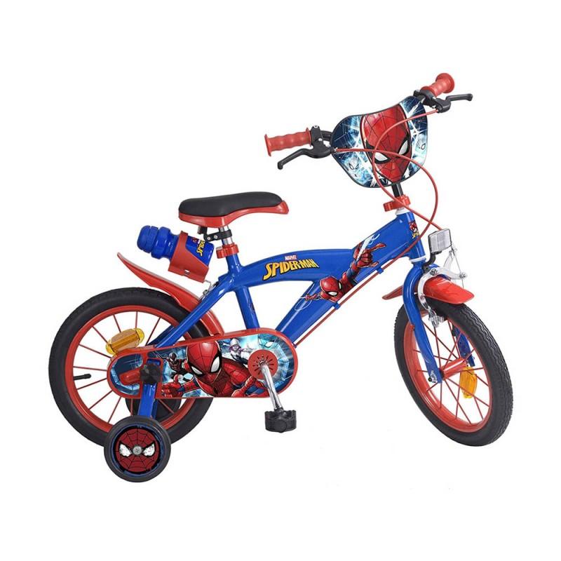 Bicicletta Spider Man Taglia 14  - MazzeoGiocattoli.it
