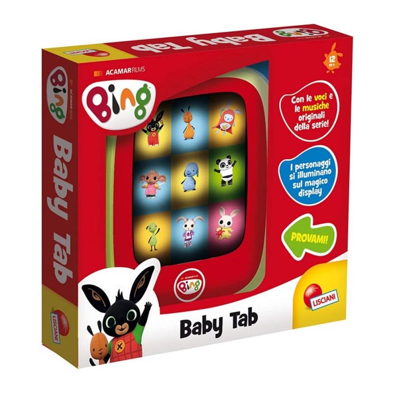 Bing Baby Tab - Lisciani - MazzeoGiocattoli.it