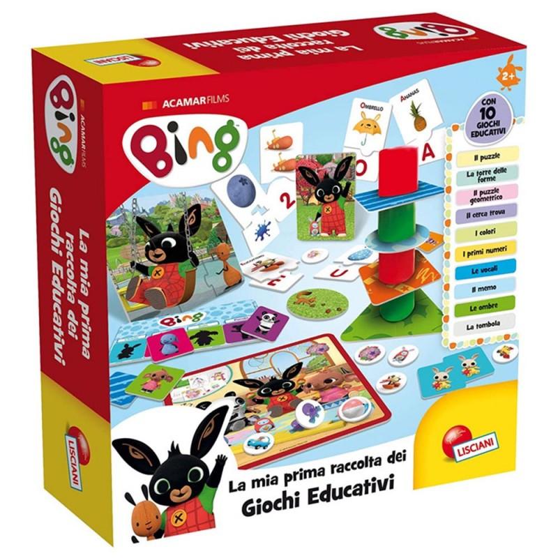 Bing Baby Raccolta Giochi Educativi - Lisciani - MazzeoGiocattoli.it