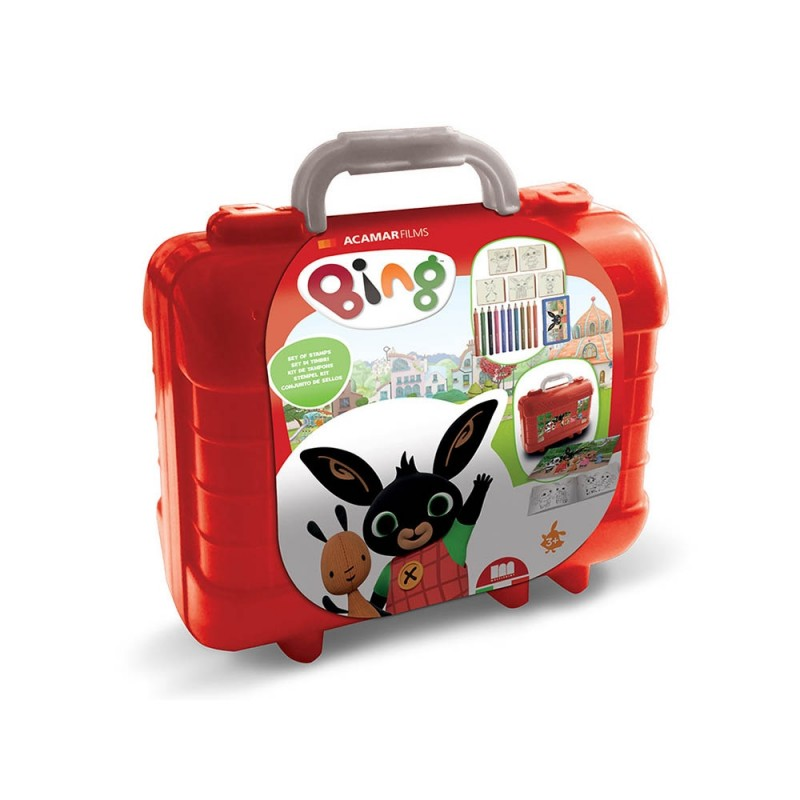 Bing Valigetta Travel Kit Con Timbri -Multiprint - MazzeoGiocattoli.it