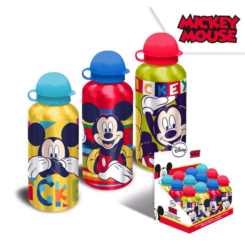 Borraccia Alluminio Mickey Mouse 500ml  - MazzeoGiocattoli.it
