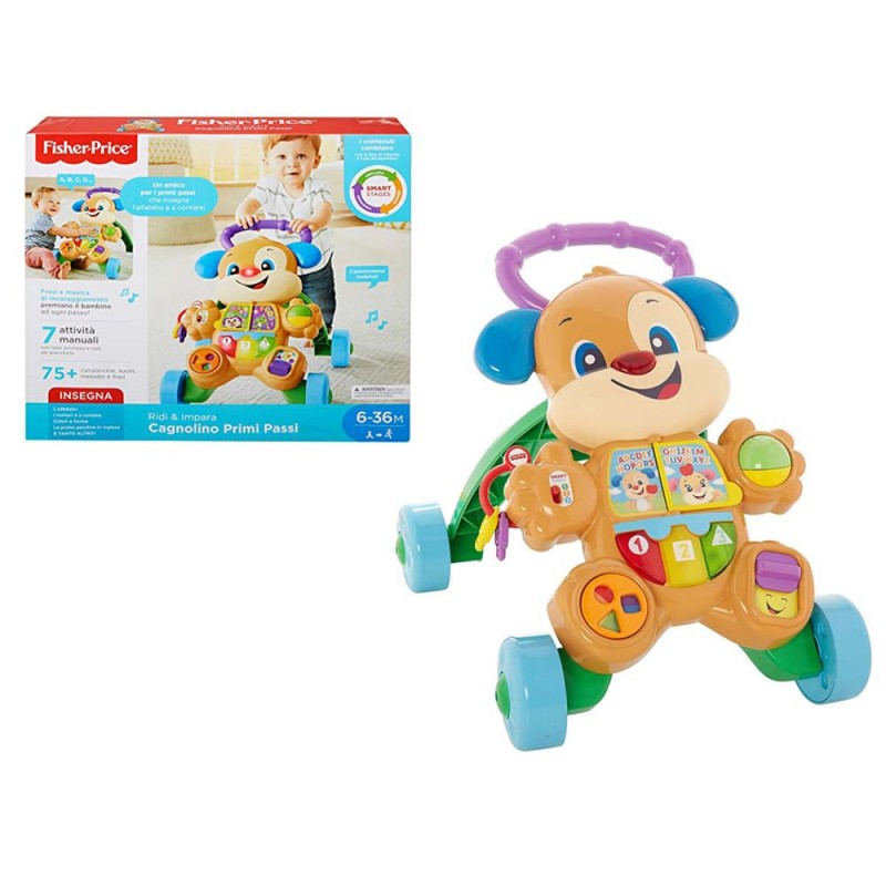 Cagnolino Primi Passi - Fisher-Price  - MazzeoGiocattoli.it