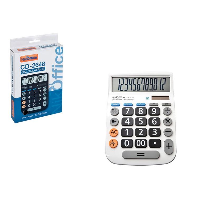 Calcolatrice Da Tavolo ANS CD-2648 - MazzeoGiocattoli.it