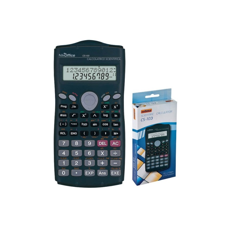 Calcolatrice Scientifica Digitale CS-103  - MazzeoGiocattoli.it