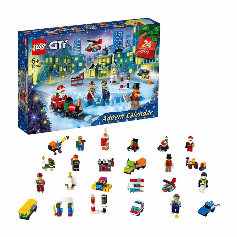 Calendario Dell'Avvento 2021 - Lego City  - MazzeoGiocattoli.it