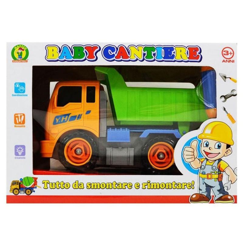 Camion Baby Cantiere Prima Infanzia- Mazzeo Giocattoli - MazzeoGiocattoli.it