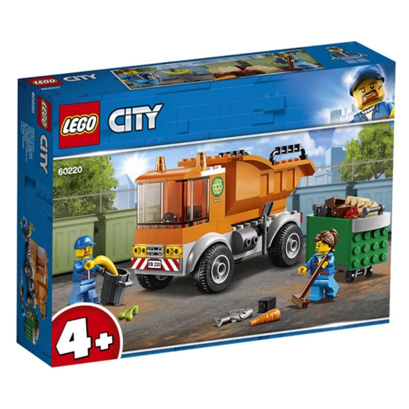 Lego City - Camion Della Spazzatura - 60220 - MazzeoGiocattoli.it
